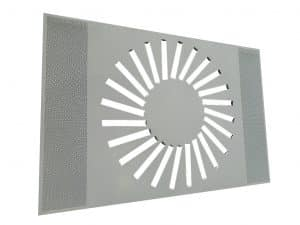 Adjustable Swirl In Ceiling Panel Swa Special ()