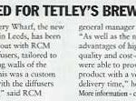 Tetley News Cutting