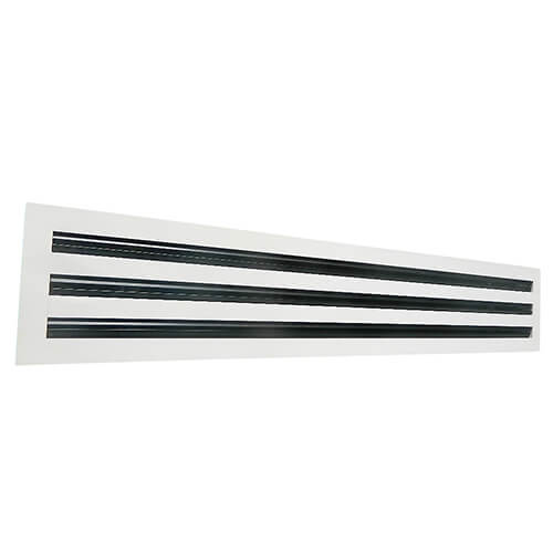 Linear Diffusers And Grilles : Linear slot diffuser high capacity diffusers