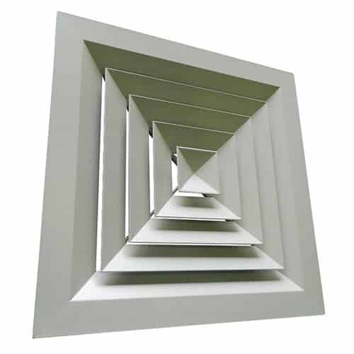Louvre Faced Diffuser SQD Way